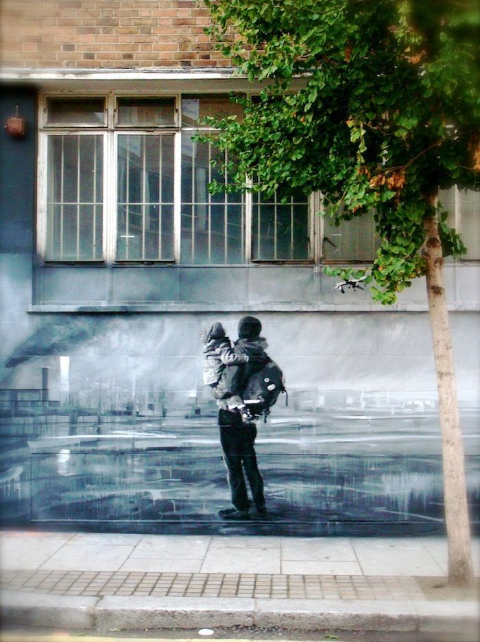 3 Street Art walls with strong emotions