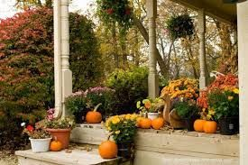 Pumpkin porch, fall