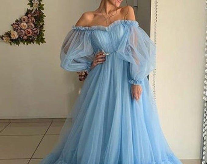 48++ Tulle dress long ideas