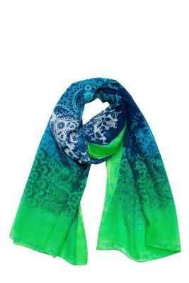 Desigual women's Sian scarf. Our maxi-scarves are the best: you can wear them as a sarong, a pashmina, a beach dress, etc. Wow! It measures 200x109 cm / 78.74