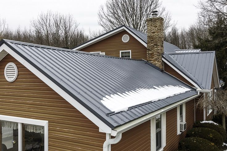 Why Should I Choose A Metal Roof Metal Roof House Roof Installing Siding