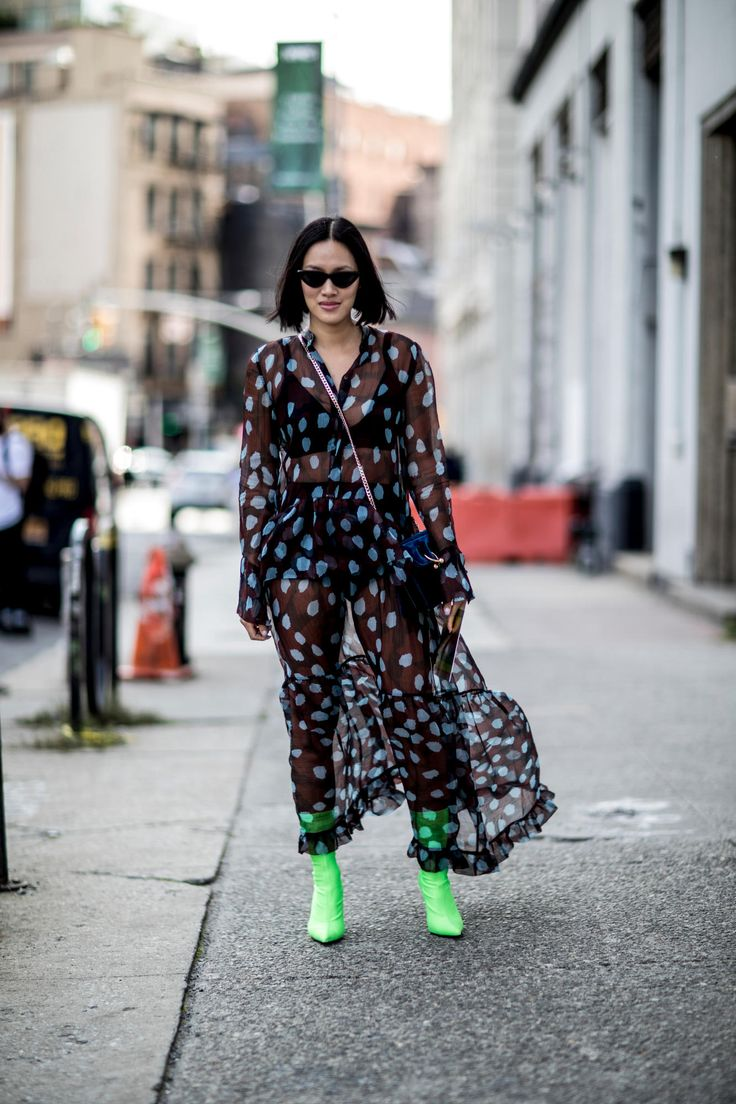 New York Fashion Week Street Style Day
