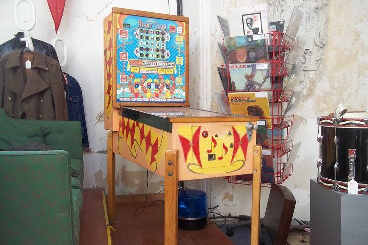 Bally Night Club 1956 Pinball Bingo Machine Fully Restored and Working