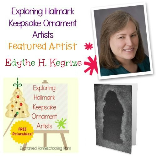 Come find fun facts and learning activities to study Edythe H. Kegrize in this month's featured artist in the Exploring Hallmark Keepsake Ornament Artist Series!