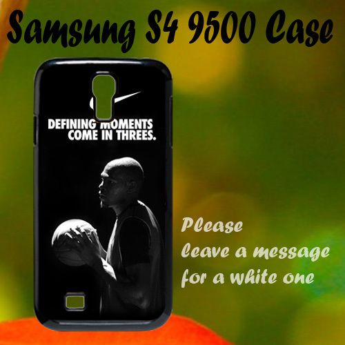 Nike Basketball Quote Samsung S4 i9500 Case, Plastic Case, Best Case