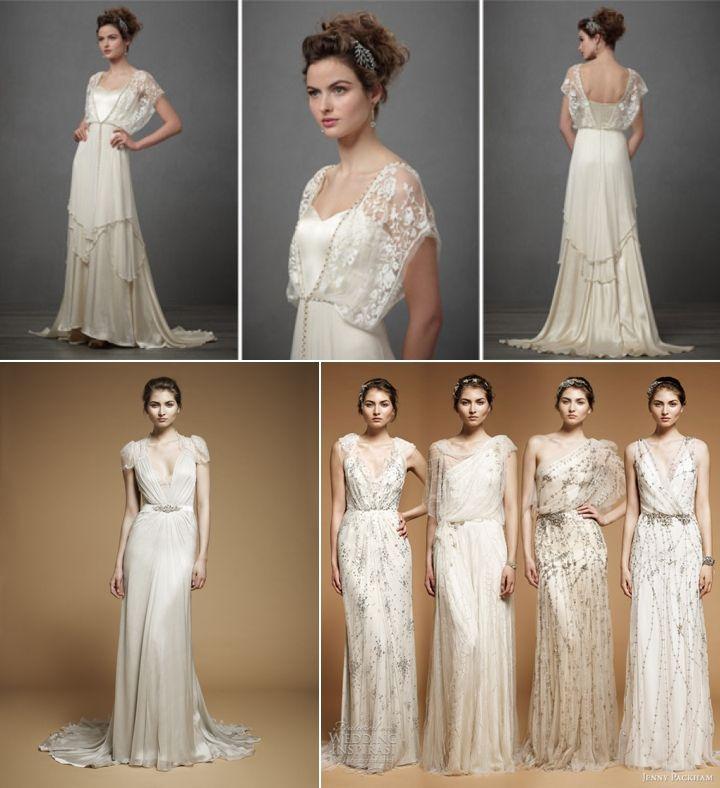 Dowton Abbey-style wedding dresses Stephanie Court Photography (blog) #weddings #dresses #vintage