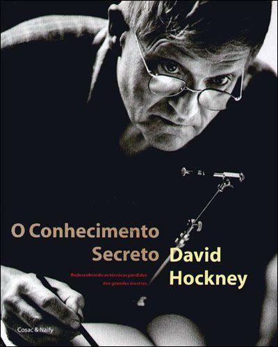 """Escreveu dois livros biográficos e em 2001, Hockney lançou um livro,""""Conhecimento Secreto"""" sobre os procedimentos técnicos da pintura figurativa ocidental."""
