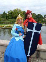 Aurora & Phillip cosplay Elf Fantasy Fair 2013 Arcen