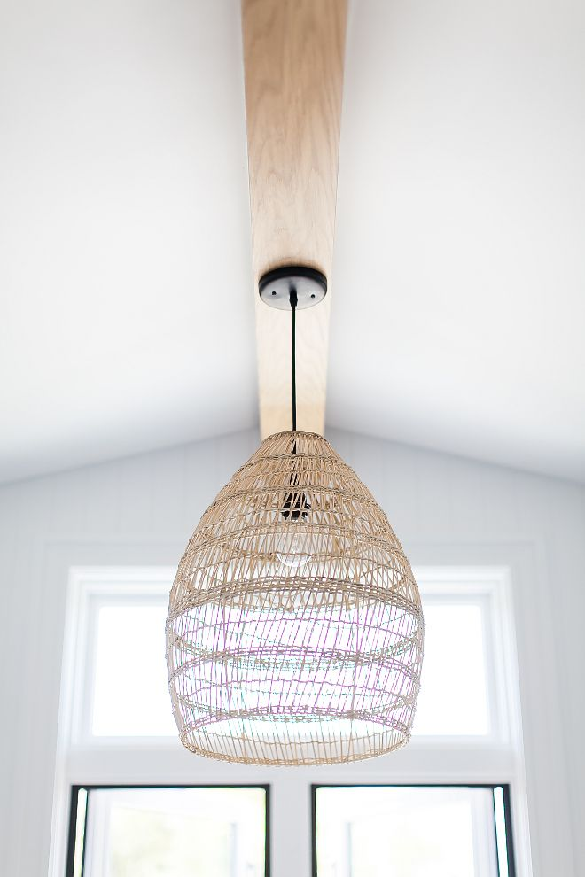 Natural Basket Weave Bamboo Pendant Shade World Market