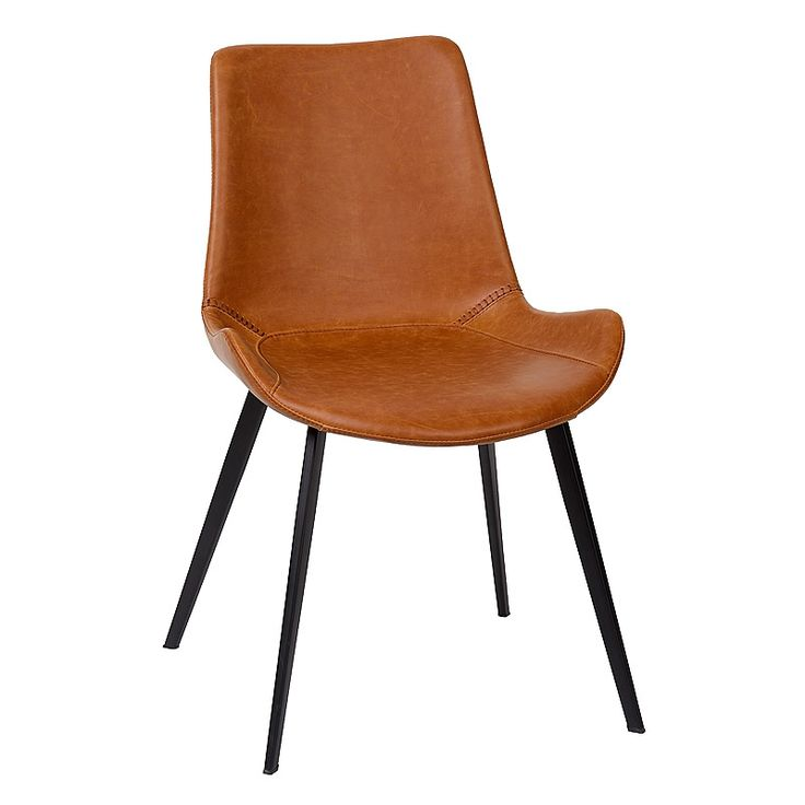 Charrell - CHAIR VIKING - LIGHT BROWN - 51 x 56 - H 80 cm (image 1)