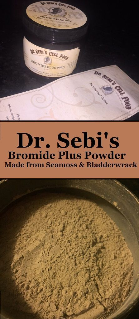 I purchased the Bromide Plus Powder product from Dr. Sebi which is made of just two herbs, Irish Seamoss and Bladderwrack. Seamoss and Bladderwrack are...