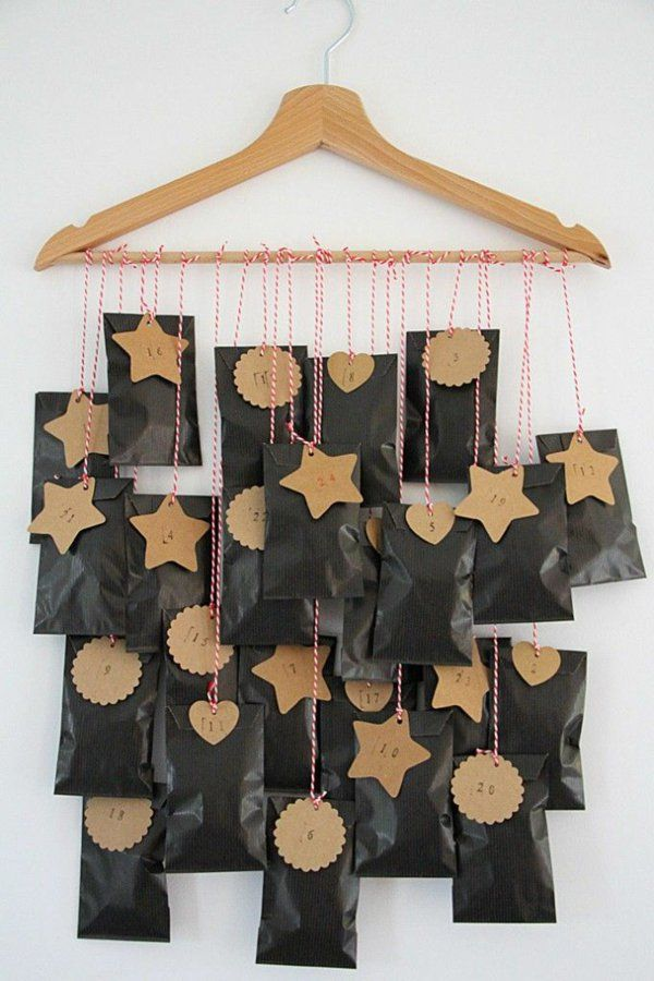 Você quer fazer um calendário do advento – idéias de artesanato criativos   – Weihnachtliches Zuhause