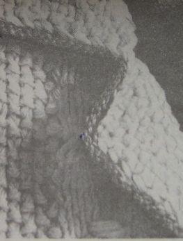 Английский воротник - вязание спицами для начинающих пошагово