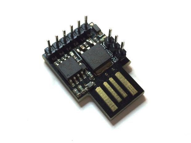 USB NeoPixel Deco Lights (via Digispark / ATtiny85) | ATtinny85