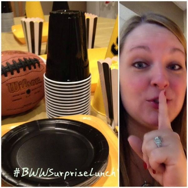 Surprise Buffalo Wild Wings Lunch! #BWWSurpriseLunch #ad