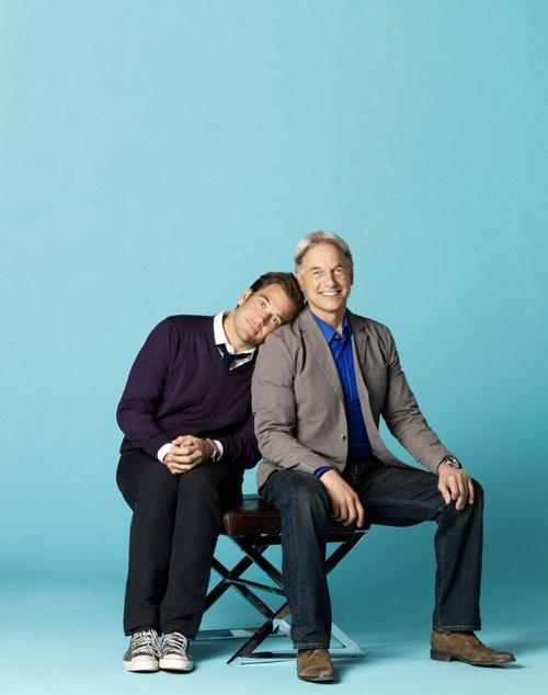 Michael Weatherly & Mark Harmon