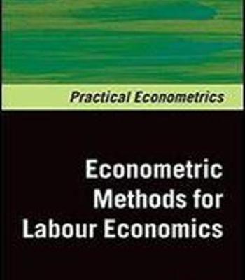 Econometrics Methods For Labour Economics (Practical Econometrics) PDF