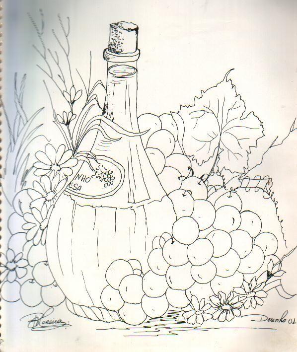 botella y uvas 2