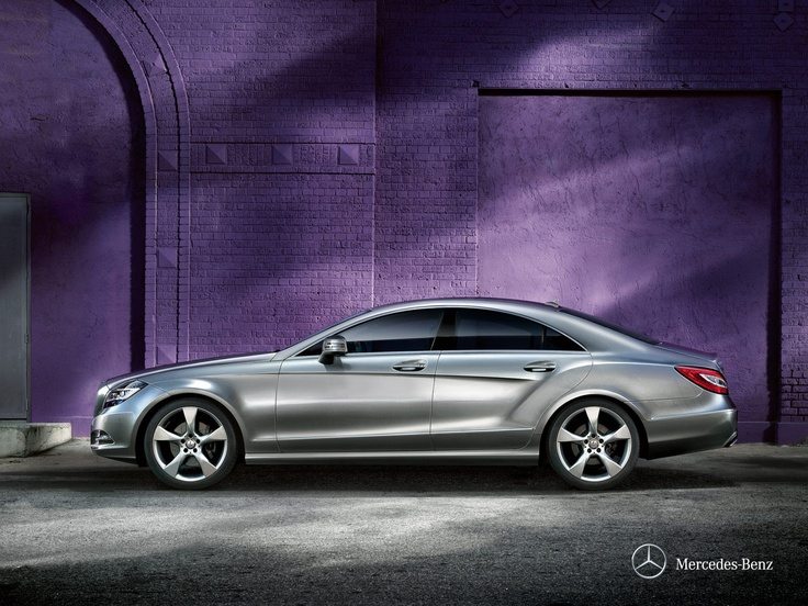 Mercedes-Benz CLS.  Sensuality and sense have never been closer
