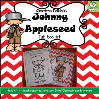 This nonfiction booklet is great to use when teaching Johnny Appleseed on the elementary level. It meets the Georgia's first grade Social Studies standards SS1H2 for American Folktales.  Click here to save 30%.This informational reader contains 6 pages including the cover.Pages are in blackline and include:CoverFamilyJobApple Seed ManFact vs.
