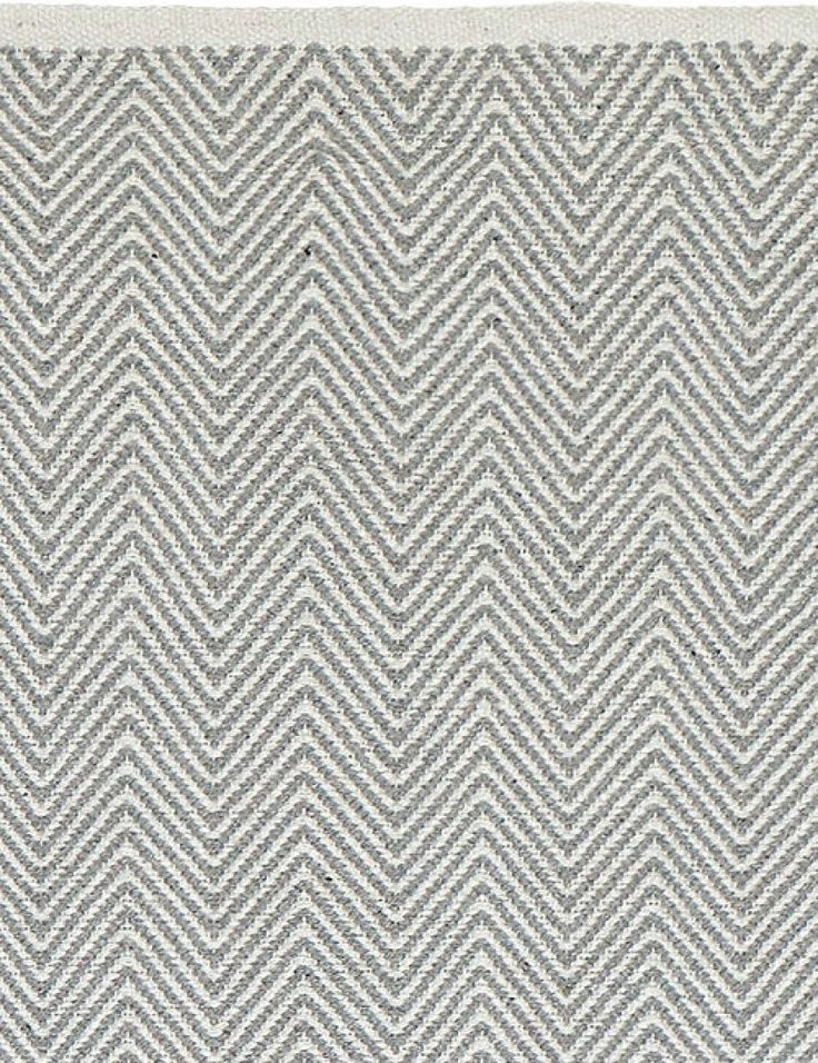 Chevron Rug - Grey
