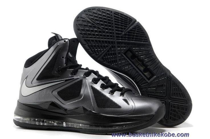 541100-001 Noir Diamond Style Nike Lebron X 10 Sortie