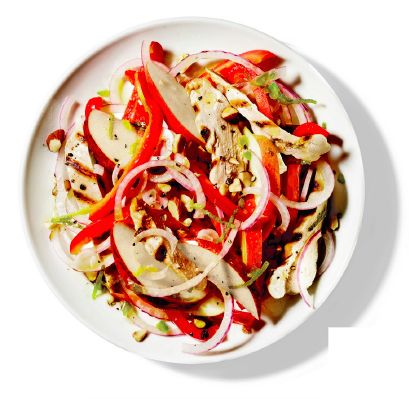 Tavuklu elmalı salata - Fitness, Pilates, Beslenme ve Diyet