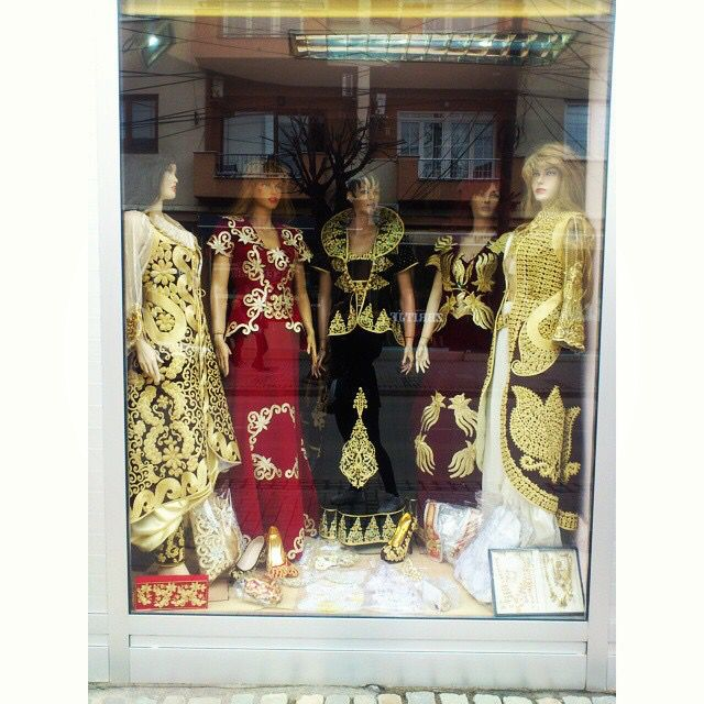 Beautiful traditional women clothes in #Prizren #Kosovo
