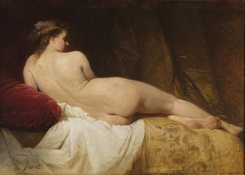 Nikiforos Lytras, Greek painter 1832-1904 - Nude c. 1867-1870
