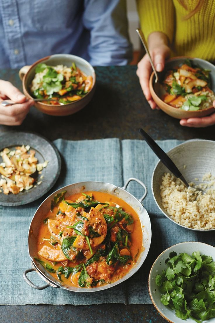 Roasted coconut, lime and tamarind curry: guest recipe by Anna Jones