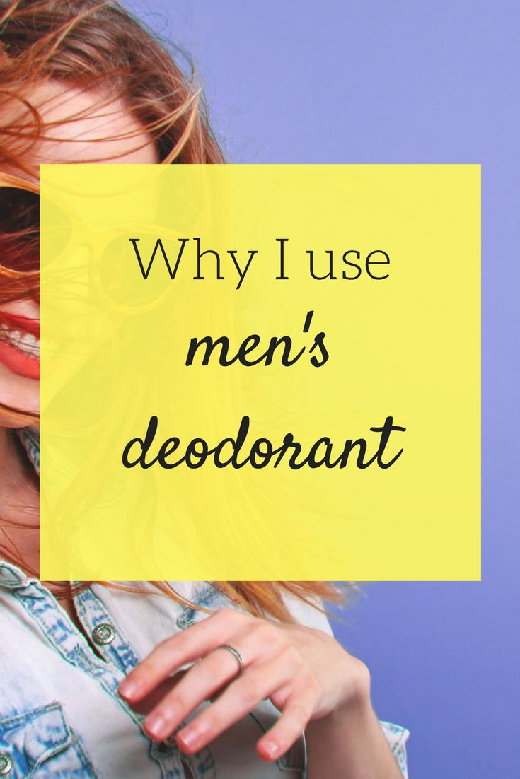 Mrs. Picky Pincher broke up with lady's deodorant once and for all. See why she switched to a men's deodorant--and why it doesn't matter.