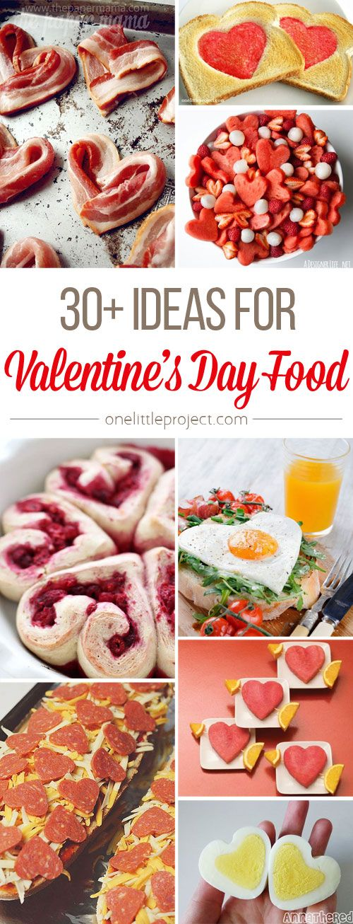 OK guys, hang onto your hats because these Valentine's Day food ideas are adorably cheesy! I can't think of a better way to show someone you care!