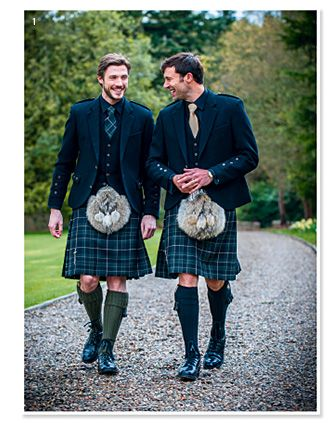 I love men in skirts ~ I mean kilts :)
