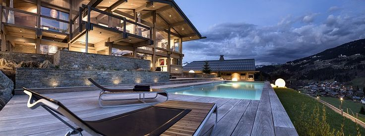 Réservez un chalet de luxe à Megève pour votre location de sports d'hiver.
