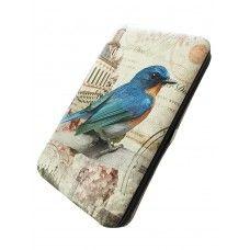 Leather Bird Wallet