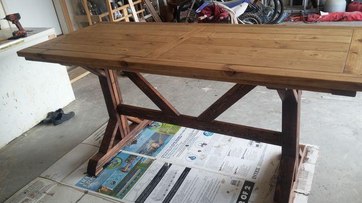 Farm bar top table, created 8-24-15