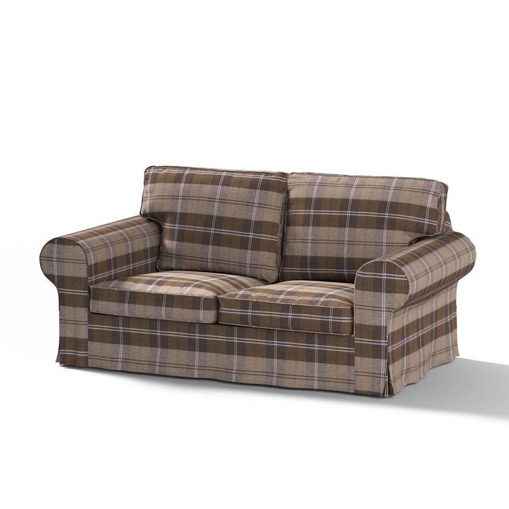 Lazy Boy Sofa Buy Dekoria Fire Retarding Ikea Ektorp sofa bed cover for model on sale in Ikea brown u beige tartan in our Kitchen u Home store