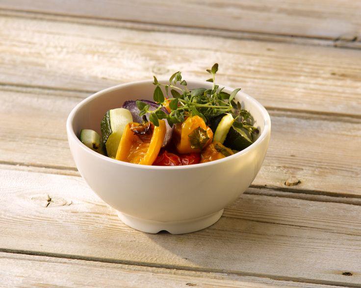 Geometrix soup/salad bowl - Finest Vitrified Tableware