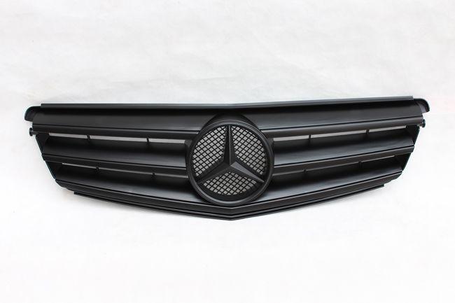 C Class W204 Sporty Grille(Matte Black color)