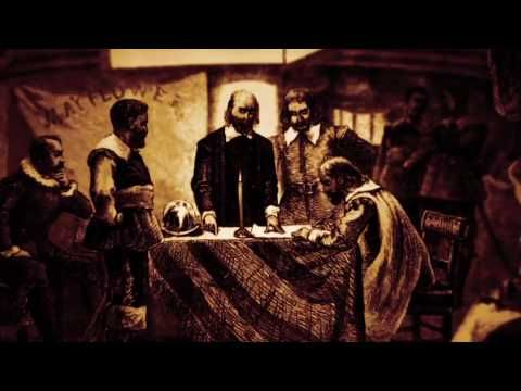 The Mayflower Compact - Drive Thru History - YouTube