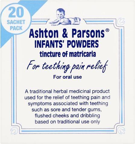 Ashton & Parsons Teething Powders (20) *S*