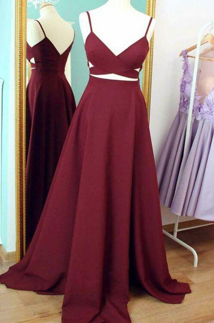 burgundy homecoming dress, long homecoming dress prom dress, 2017 homecoming dress