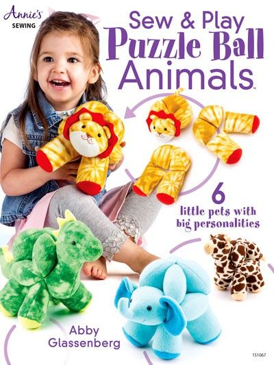 Sew & Play Animal Puzzle Balls Sewing Pattern Preview