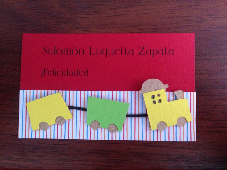Tarjetas personales niños #kids #baby #colorscrap #scrapbook #card #gift