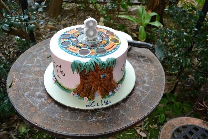 Wizard 101 Cake