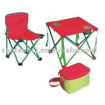 children kids camping chair table cooler bag set / festival set / portable picnic table set $1~$10