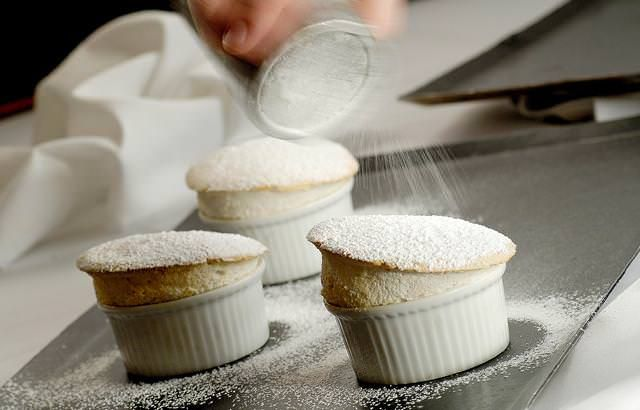 This brilliantly simple hot banana soufflé recipe from top chef Paul Heathcote can be enjoyed on as a warming wintery dessert