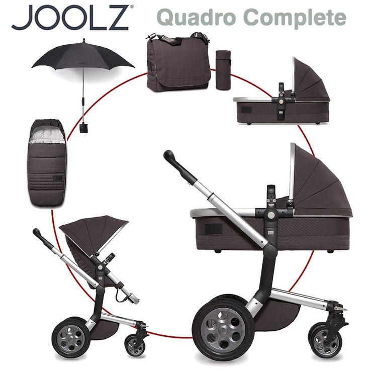 Joolz Day Quadro Complete Set XL - CARBON - 2016