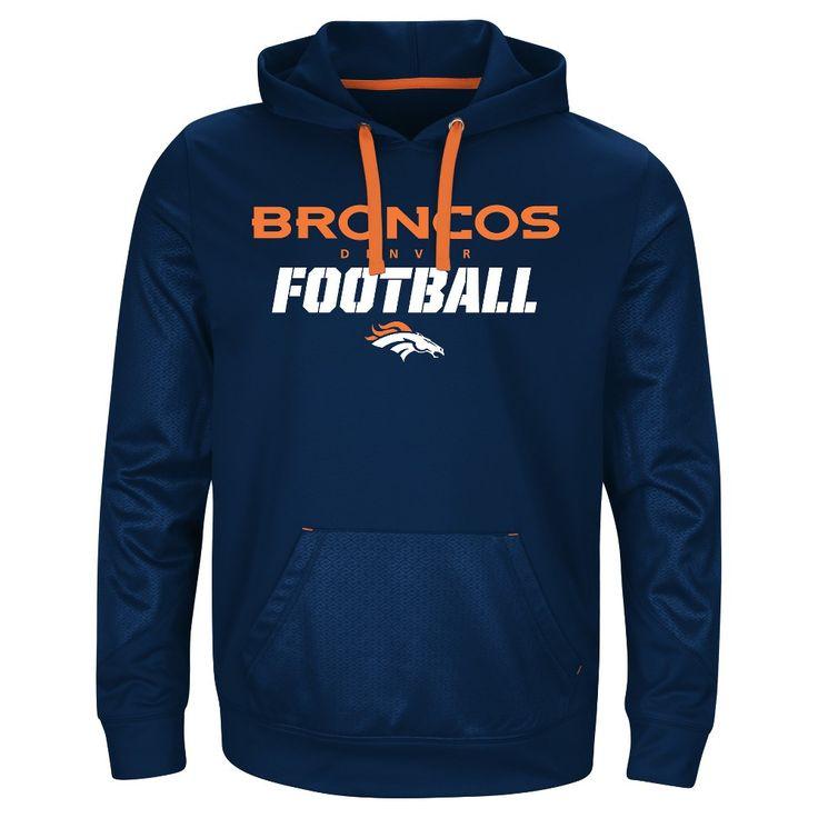 Activewear Sweatshirt NFL Denver Broncos Team Color XL, Men's, Multicolored