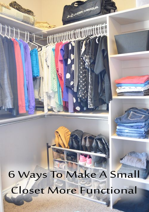 I would so love a closet like this :) link to article with great tips to achieve and keep order.